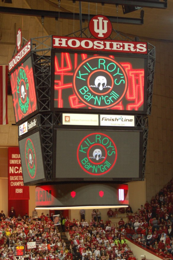 Tuesday, March 5, 2013, Ohio State Mens Basketball vs Indiana Mens Basketball, Assembly Hall, Bloomington, Indiana